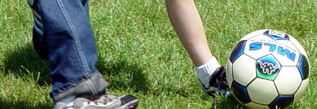 Footballers' feet